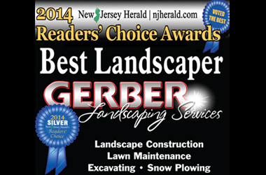 Gerber Landscaping Services 2014 NJ Herald Silver Award Winner